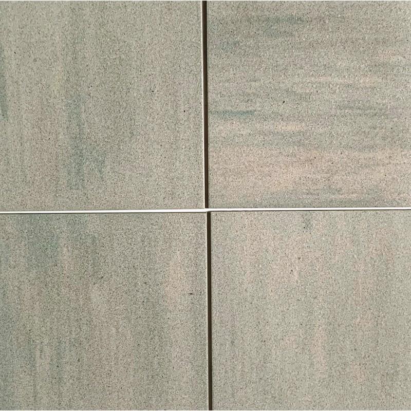 Pale Green Speckle Unglazed Porcelain Tile 400x400