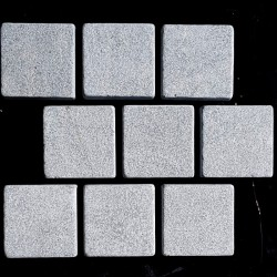 Crystal Grey Antique Brick Pattern Cobblestone Marble