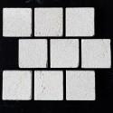 New Botticino Antique Brick Pattern Cobblestone Marble