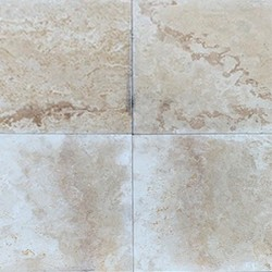 Classico Light Cement Filled Honed Travertine 610x610