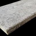 Atlantic Grigio Antique Pencil Edge Step Tread Limestone