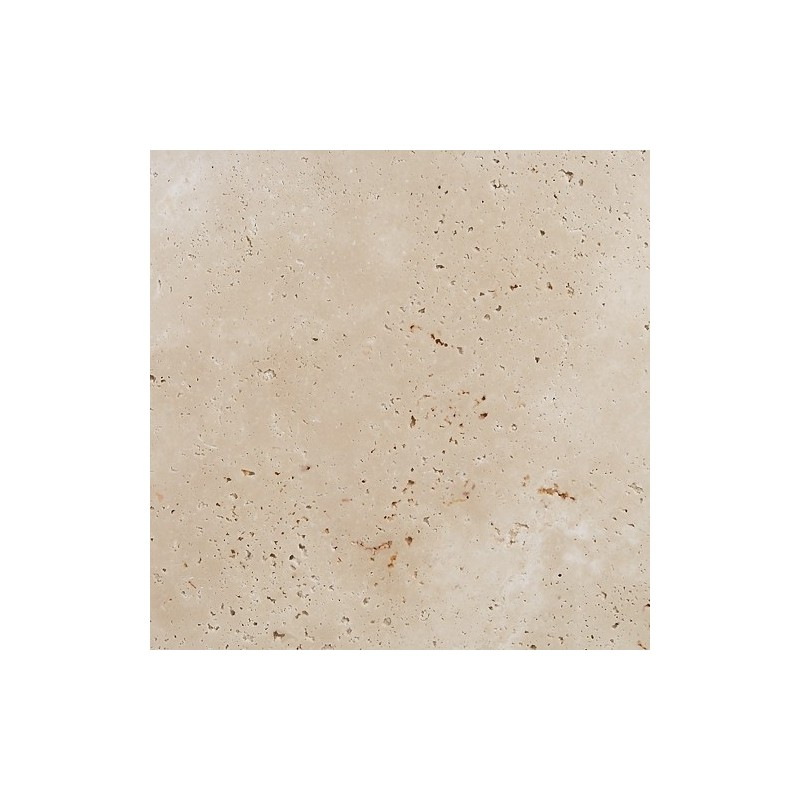Travertine Chiaro (White) - Cross Cut - Unfilled & Honed - Medium Shade