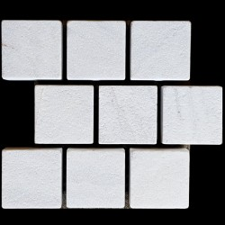 Bianca Luminous Antique Brick Pattern Cobblestone Marble