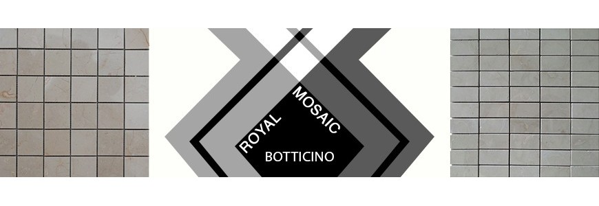 Royal Botticino Mosaic Marble | Bathroom & Kitchen Tiles
