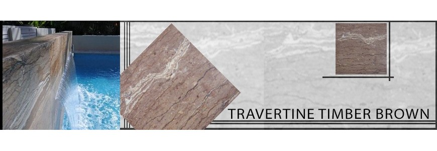 Travertine Timber Brown Tile | Sydney & Melbourne Supplier