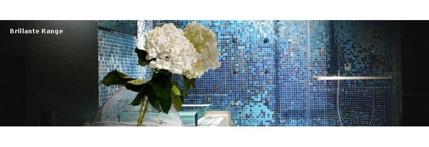 Trend Brillante Italian Glass Mosaic Tile