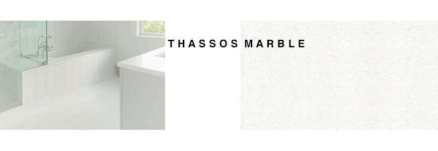 Thassos Marble Tile Waterfall | Sydney & Melbourne Supplier