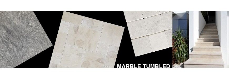 Marble Tumbled Tile | Sydney & Melbourne Supplier