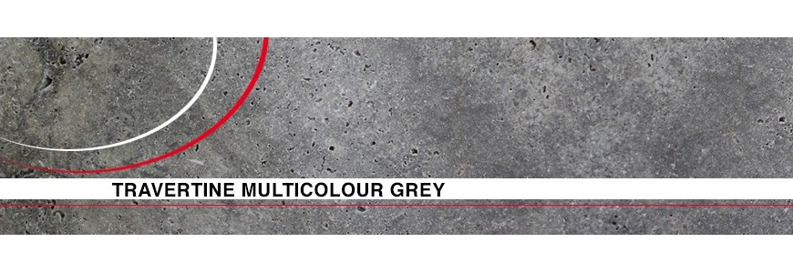 Multicolour Grey Tumbled Tiles