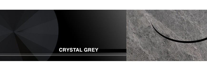 Crystal Grey Tumbled Tiles