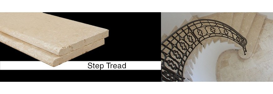 Natural Stone Step Tread / Stair Tiles