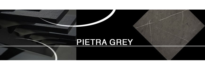 Pietra Grey Limestone Step Riser / Stair Tiles