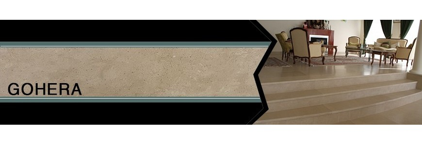 Gohera Limestone Step Riser / Stair Tiles