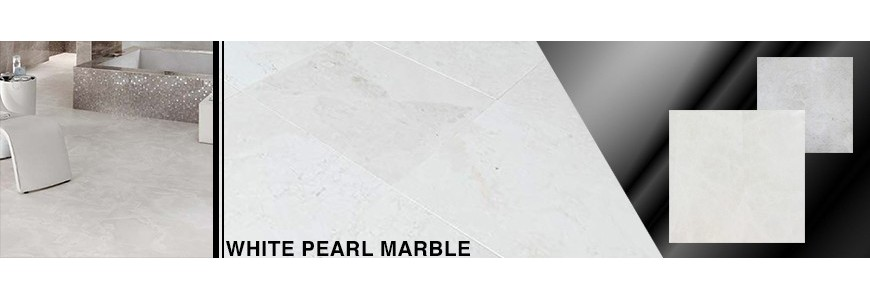 White Pearl Marble Tile | Sydney & Melbourne Supplier