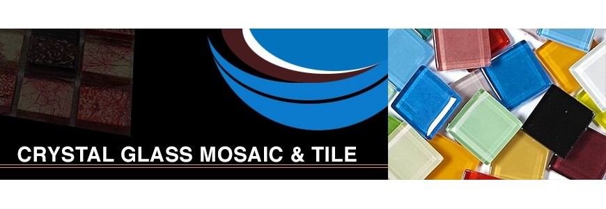 Crystal Glass Mosaic & Tile | Marble & Ceramic Corp