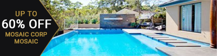 MosaicCorp Pool Tiles 60% Off